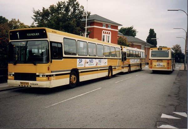 Nyborg Bytrafik - Perioden 1985-1994